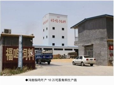 Fu-Ming Henan 100,000 tons of livestock and poultry feed line
